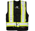 Fire Resistant Safety Vest - Unlined - Polyester / VIK3995FR Series