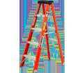Step Ladder - Type 1A - Fiberglass / F586 Series *HEAVY-DUTY