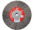 "Wire Wheel Brush - 6"" - Crimped / 554434"