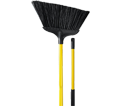 "Angled Broom - 44"" - Polypropylene / 2032 *CLEAN BEE"