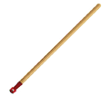 "Broom Handle - 1-1/8"" - Screw-On / 89901"