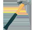 Claw Hammer - Fiberglass - Yellow / 6722F