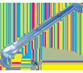 "T-Grid Box Hanger - 24"" - Steel / 512HDTC *PREGALVANIZED"