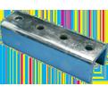 "4 Hole External Coupler - 9/16"" - Steel / U24A0000EG *ELECTROGALVANIZED"