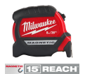 8M/26Ft Compact Magnetic Tape Measure / 48-22-0326