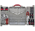 "Hand Tools & Socket Set - 1/4"", 3/8"" & 1/2"" - 6 &12 Point / CTK170MP *170 Pc"
