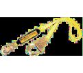 Shock Absorbing Lanyard - 6' - 900 Lbs. - Snap & Rebar Hook / 1240077C