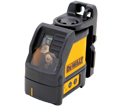 Laser Level - Cross Lines - Red - AA Battery / DW088K