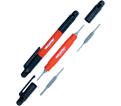 Screwdriver - 4-in-1- Red / 6PDRIVER-CC *POCKET DRIVER