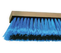 "24"" - Synthetic Fiber Fine & Coarse Push Broom / Blue Boy"
