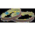 """File Belts - 3/4"""" x 18"""" - Alum Oxide/Silicon Carbide / 07-D 1 Series *BLENDEX+™"""